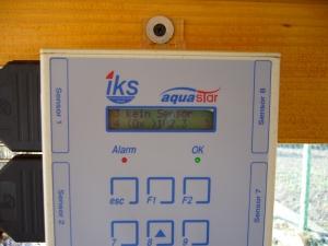 Tableau de la centrale IKS
