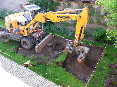 Construction d 39 un bassin koi chez koiconnect - Construire un bassin contemporain la rochelle ...