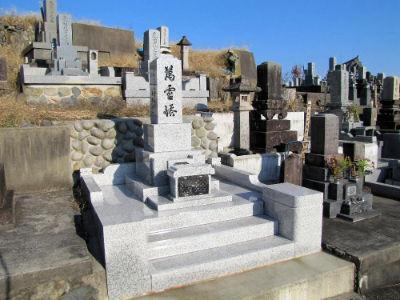 Une tombe japonaise