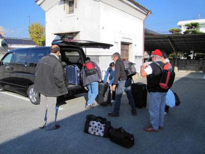 Le départ vers Narita