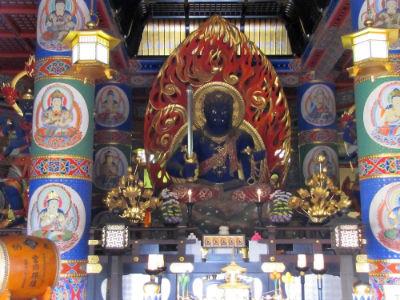 Le Boudha du temple principal