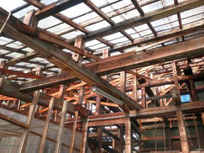 Structure de serre chez Oofuchi