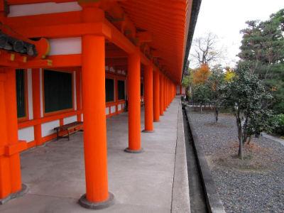 Le mur extérieur du temple de Sanjusangen-do