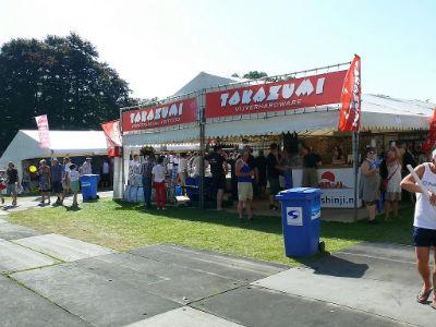 Le stand de la  nourriture Takazumi
