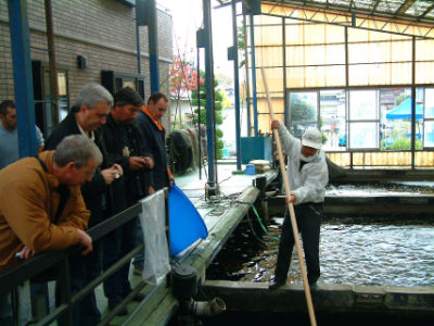 La pêche chez Sakai