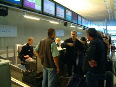 L'enregistrement des bagages