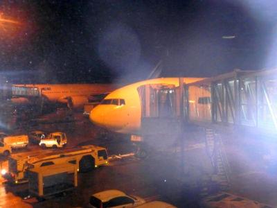 L'avion de notre voyage