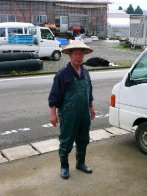 Un éleveur japonais