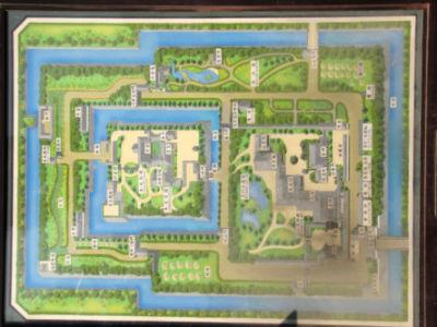 Le plan du paleil de Ninomaru