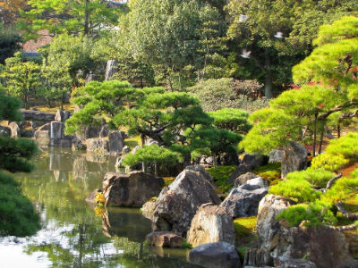Le bassin de Ninomaru