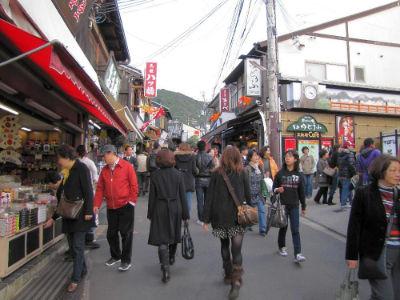 Les ruelles du temple de Kiyomizu