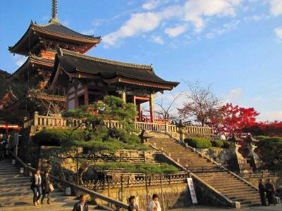 L'entrée du Kiyomizu Temple